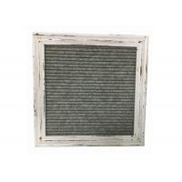 Quality White Vintage Felt Letter Board 10 Inch Rustic Design With Changeable Letters for sale
