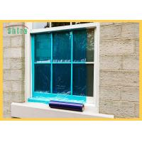 China Blue Window Wrap During Construction Clear Window Glass Protection Film Resistant To 6 Months UV on sale