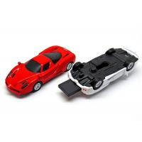 Mini Partable Red White Ferrari Car U disk Full 16GB Capacity USB Flash Drives Manufactures