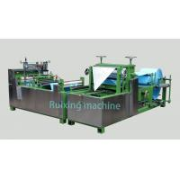 High Speed Filter Bag Making Machine Non Woven Bag Making Machine Manufactures