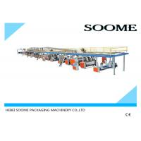 Professional Precision Corrugated Box Production Line 3 Layers 1800 Mm Manufactures