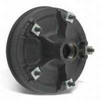 Trailer Hub and Drum Assembly, 6,000 and 7,000lbs Axles, 5 Spoke Utility, 12 x 2 Inches Drum Manufactures