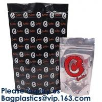 Custom Printing Dissolvable Smell Proof Stand Up Billy Kimber Mylar Plastic Bags Weed Pouch With Zipper Manufactures
