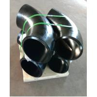 China Carbon Steel Butt Weld Fitting , ASTM A234 WPB-S ,90DEG ELBOW LR SR , DN300 SCH120 BW SMLS B16.9 , Black Surface on sale