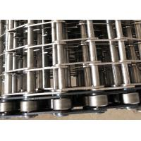 Eye Link conveyor belt 304 Stainless Steel High Temperature Resistant For Freezing Berries Manufactures