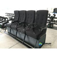 Different Color Choice Motion 4D Movie Theater Equipment With Fiber Glass Material Manufactures