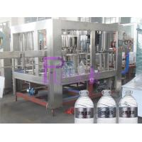 Quality 5L Pure Water Bottle Filling Machine 3 In 1 Liquid Filler Equipment for sale