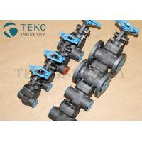 Full Port Forged Steel Valves , High Pressure Welded Flanged End Bolted Bonnet Gate Valve Class 800 ~ 2500LB Manufactures