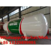 2019s new manufactured 45cbm 20tons bulk propane gas storage tankers for sale, HOT SALE! stationary lpg gas tanker Manufactures