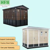 China Corrosion Prevention Box Type Transformer Prefabricated Customized Compact Substation on sale