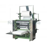 Facial Makeup Square Cotton Pad Machine , Cotton Puff Automatic Wrapping Machine Manufactures