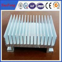 Custom Aluminium Cooler Extrusions, aluminum profiles used in radiator Manufactures
