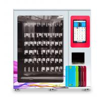 China mobile case mobile cover vending machine with x-y axis elevator and adjustable channel width function on sale