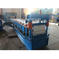 Roofing Sheet Standing Seam Roll Forming Machine High Speed 8-12m/min Manufactures
