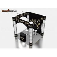 Square Custom Trade Show Booth Manufacturers Spiral Twister Tower Showcase Display Stand Manufactures