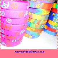 Quality promotional christian silicone bracelets for sale