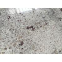 China Polished River White kitchen island with granite top / Countertop with Bullnose Edging on sale