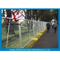 Free Standing Temporary Fencing Panels For Building Site Simple Design for sale