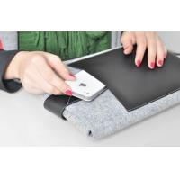 China Waterproof 10 inch Tablet PC Pouch with Soft Flannel Cloth Material on sale