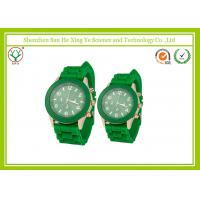 Vogue Silicone Sports Watch Japan Movement With 20CM Strap / Couple Wrist Watches Manufactures