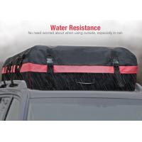 10 Cubic Feet Roof Top Bags For Cars With Water Resistant PVC coated 600D Nylon Manufactures