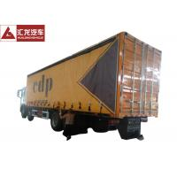 11500x2500x3850 Flatbed Curtain Side Trailers 280HP Euro VI Emission Standard Eco - Friendly Manufactures
