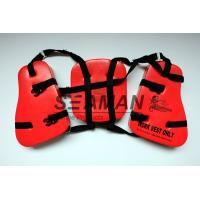 Adult Seahorse Lifevest Vinyl - Dip PVC Boating Life Jackets Three Panel Manufactures