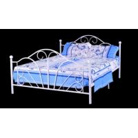 China europe style white metal double bed frame  B019 on sale