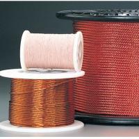 0.05 - 0.287mm Self Bonding Wire High Frequency Copper Litz Wire Insulated Winding Wire For Transformers Manufactures