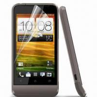 Clear Screen Protector for HTC One V, Various Materials are Available Manufactures