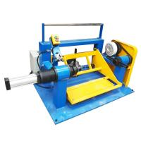 Shaftless Motorized Wire Take Up Machine Rewinding Machine With Electric Lift Manufactures