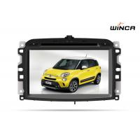 Multimedia Fiat Navigation System With Touch Screen Monitor Bluetooth
