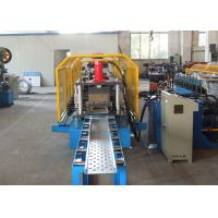 Galvanized Coil Foot Rest Floor Deck Roll Forming Machine Thickness 0.8 - 1.2 mm Manufactures