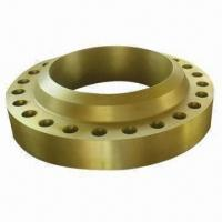 Carbon Steel Flange with Forged Process, Comes in Welding Neck, Slip-on and Blind Types Manufactures