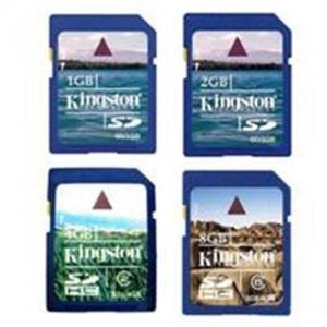 China Kingston SD Memory Card 1GB/2GB/4GB/8GB on sale