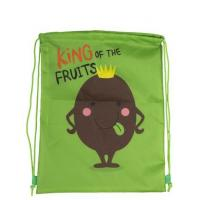 China 210D Polyester Kids String Bags Personalised Drawstring Bags For Children on sale