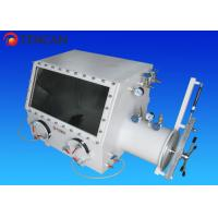 Vacuum Lab Glove Box Isolation Glove Box with 12 Min Hours Pressure Holding Time Manufactures