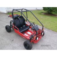 Quality 2 Seat Kids / Children Electric Go Kart , Small Dune Buggy Cute Racing Go Karts for sale