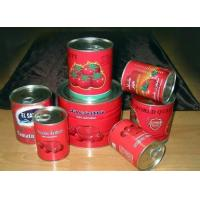 Quality high quality brix 28~30% canned tomato paster export africa for sale