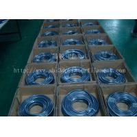 Fluorescence PVC Plastic Flexible Hose Blue / Green For Automobiles , Computers , Lighting Manufactures