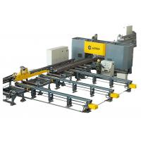 High Speed CNC H Beam Drilling And Marking Machine Line For Steel Structure Fabrication Manufactures