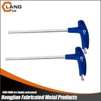 custom chrome plated S2 material T handle hex key wrench Manufactures