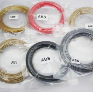 3D printer pen filament 3D pen wire 3D pen material colorful ABS 20bags/carton,20color