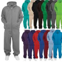 China Wholesale custom cotton poly sweat tracksuits unisex sport blank jogging suits on sale