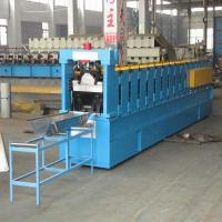 K Span Roof Roll Forming Machine Controled by PLC with Cr12 Steel Cutting Blade Manufactures
