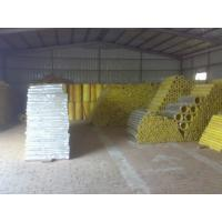 China high temp glass wool pipe insulation on sale