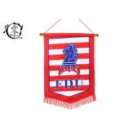 China NCAA FDU Knights Multicultural Flag Banners Size 9 x 15'' Polyester Sublimation Printed on sale