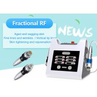 Portable Fractional RF Microneedle Machine for Face Lifting / Skin Resurface Manufactures