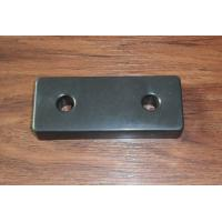 Black Plastic Chair Feet used for Chair Bed Cabinet Square Shape Manufactures
