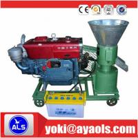 Flat die Diesel Engine Pellet Mill machine to make sawdust pellets Manufactures